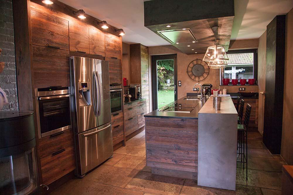 Factory boutique conception de cuisine sur mesure for Prix main d oeuvre pose cuisine